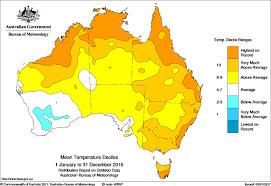 aus maps australia annual climate summary 2016