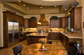 built in kitchen sink under triple pendant lamps modern farmhouse