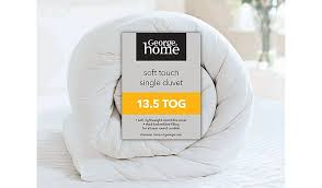 3 Tog Duvets Soft Touch Microfibre Duvet 13 5 Tog Duvets U0026 Pillows George