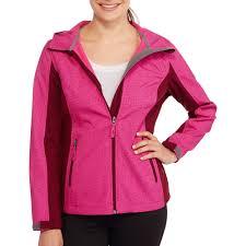 free tech women s colorblock soft shell jacket walmart