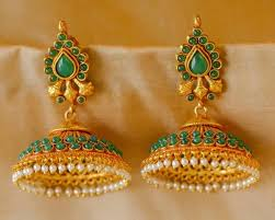 kerala style earrings the 25 best kerala jewellery ideas on temple