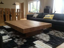 Woodwork Design Coffee Table by Best 25 Large Square Coffee Table Ideas On Pinterest Large