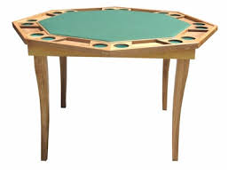 poker table with folding legs octagonal wooden poker table with folding legs drinkstuff