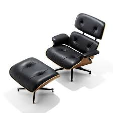 Black Chair With Ottoman Herman Miller Eames Ottoman Yliving