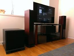 home theater server center speaker placement options ascend horizon avs forum