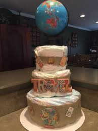 air balloon diaper cake ready journey