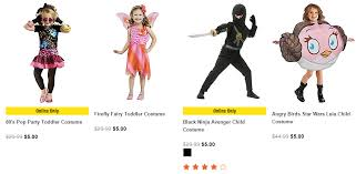 Halloween Costume Clearance Spirit Halloween Pre Clearance Sale Tons Costumes