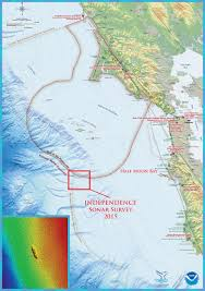 Vermont State Parks Map Nuke Blasted Hulk Of Aircraft Carrier Uss Independence Located Off