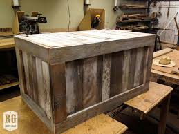 patchwork coffee table chest rustic grain