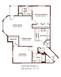2 Bedroom Floor Plans U2013 Clandestin Info
