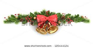 Christmas Decorations Tree Branches christmas corner decorated fir tree branches stock illustration