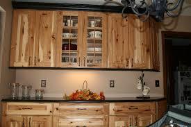 Rustic Hickory Kitchen Cabinets Kitchen Idea - Hickory kitchen cabinets pictures