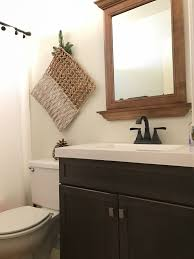 industrial cottage guest bathroom makeover u2013 beautiful treasures blog