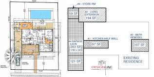 house plan drawings design line architects