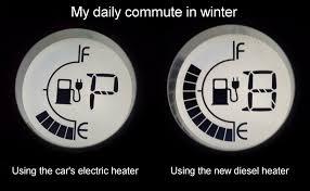 installing a diesel parking heater in my electric car electric heater compared to diesel heater