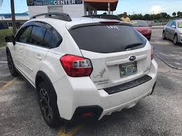 crosstrek subaru colors white subaru xv crosstrek in florida for sale used cars on