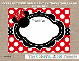 minnie mouse thank you cards friendship minnie mouse thank you card wording also free