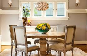 dining simple craftsman style dining room with wood furniture