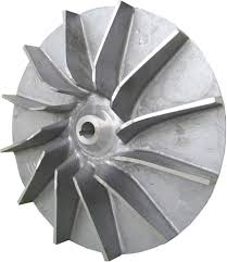industrial air blower fan air blower housing of machine is cast by aluminum alloy shop for