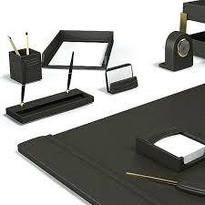 Desk Sets And Accessories Executive Desk Accessories Outstanding Modern Home Office Desk