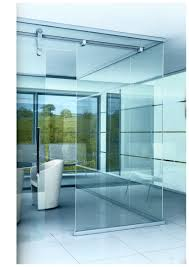 glass wall partition design in modern house office excerpt imanada