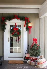 White Christmas Tree Decorations For Sale by Best 25 Christmas Porch Ideas On Pinterest Christmas Porch
