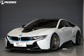 modified bmw i8 crystal pearl white bmw i8 adv05 m v2 cs series concave wheels