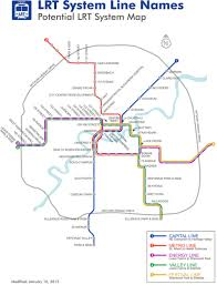Edmonton Canada Map Future Canadian Transit Maps Skyscraperpage Forum