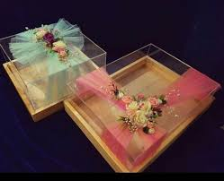 wedding trays decorative wedding trays acrylic boxes manufacturer from navi mumbai