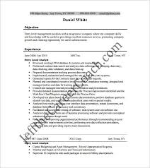 ba analyst resume cover letter entry level business for 23