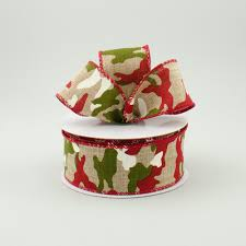 camo ribbon 1 5 moss green camo ribbon 10 yards x621909 01
