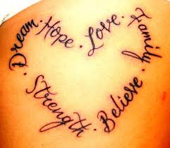 believe quote ambigram