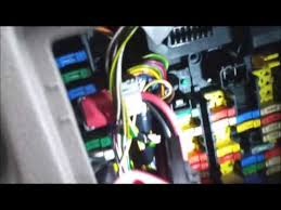 citroen picasso heater blower fix youtube