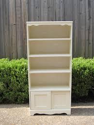 vintage bookcase white thesecretconsul com