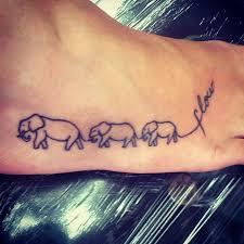 39 elephant family tattoos