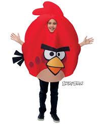 red rovio angry birds kids movie halloween costume