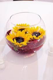 table centerpieces with sunflowers sunflower centerpiece with candle romantic centerpieces