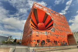 orange siege le cube orange de l agence jakob macfarlane architectes se