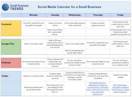 sample marketing calendars