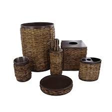 Bathroom Decor Set by Nice Wicker Bathroom Accessories 1 Tommy Bahama Bathroom