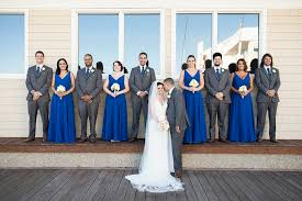 royal blue and silver wedding the water table wedding virginia wedding photographer