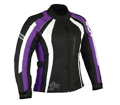 ladies motorcycle gloves 1 altimate woman u0027s metro black white purple motorcycle jacket