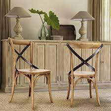 X Back Bistro Chair Joveco Vintage Style Solid Wood Dining Chair Set Of 2 Joveco