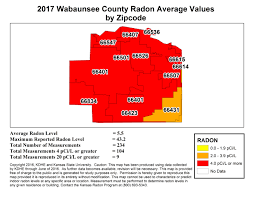 Kansas City Zip Code Map County Map Kansas Radon Program