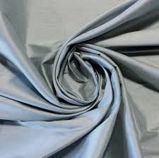 Silk Drapery Fabric By The Yard Silk Light Blue Exotic Machine Woven Dupioni 100 Silk Fabric