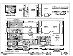 Modular Raised Ranch Floor Plans Grandville Le Modular Ranch Ultra 6 Rx223a Epic Find A Home