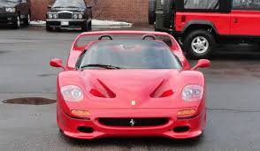 1995 f50 price for sale 1995 f50 costs as much as mclaren p1 gtspirit