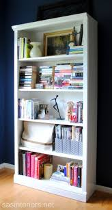 How To Make A Cheap Bookcase 13 Beautiful Bookcase Makeovers Utility Knife Shelves And Knives