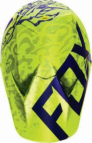 purple motocross helmet fox racing new 2016 mx v3 cauz yellow purple mips motocross dirt
