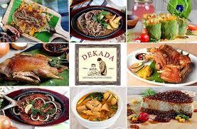 cuisine en promo 50 dekada historic cuisine food drinks promo